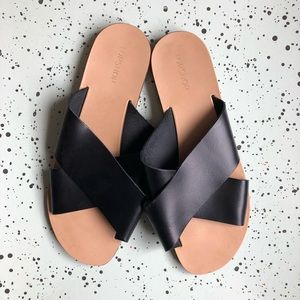 Topshop Crisscross Sandal